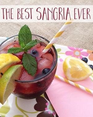 sangria recipe from Greco Design Company