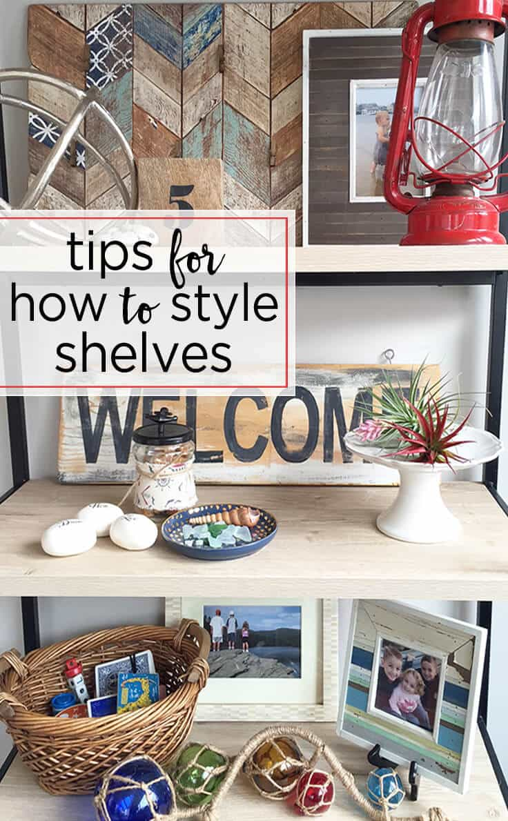 greco design tips on how to style shelves