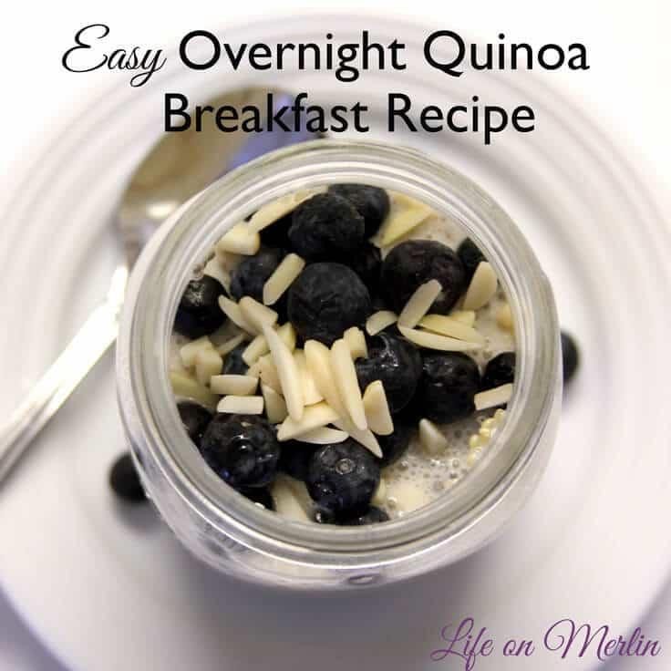 Easy Overnight Quinoa Breakfast Recipe