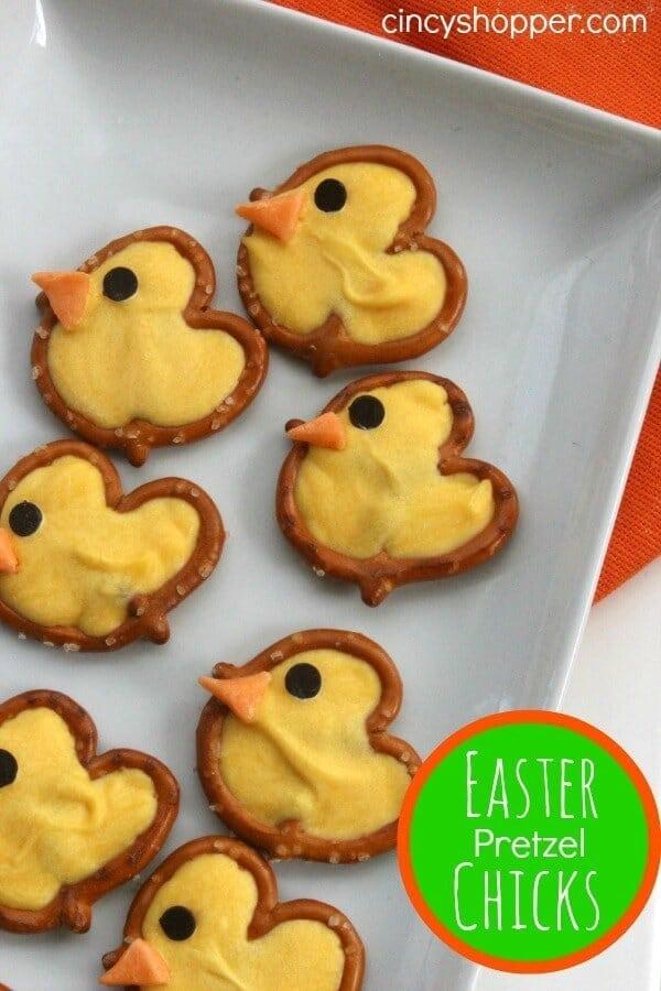 Easter Pretzel Chick Treats - Cincy Shopper - Easter Treats featured on Kenarry.com
