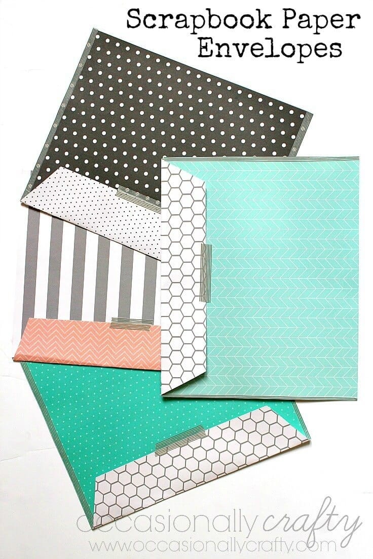 Paper and Washi Tape Envelopes 1