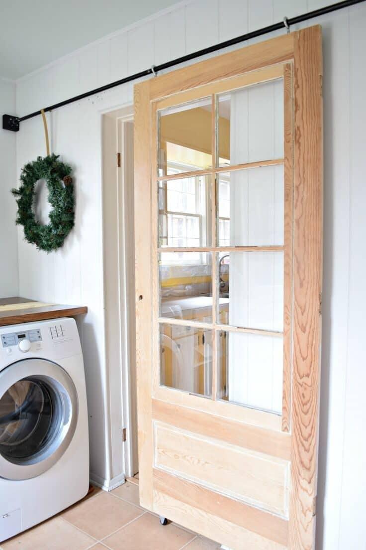 DIY Sliding Door - Houseologie featured on Kenarry.com