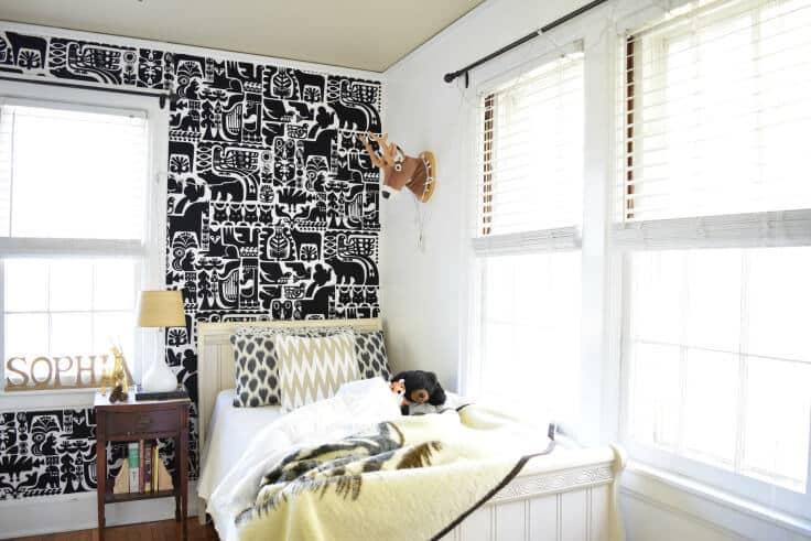 Kid's Gender Neutral Bedroom Makeover - Houseologie featured on Kenarry.com