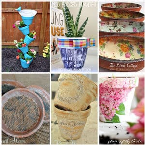 Six easy Terra Cotta projects from The Birch Cottage