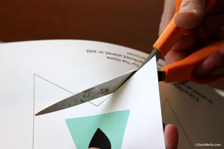 Cutting the Summer Bunting