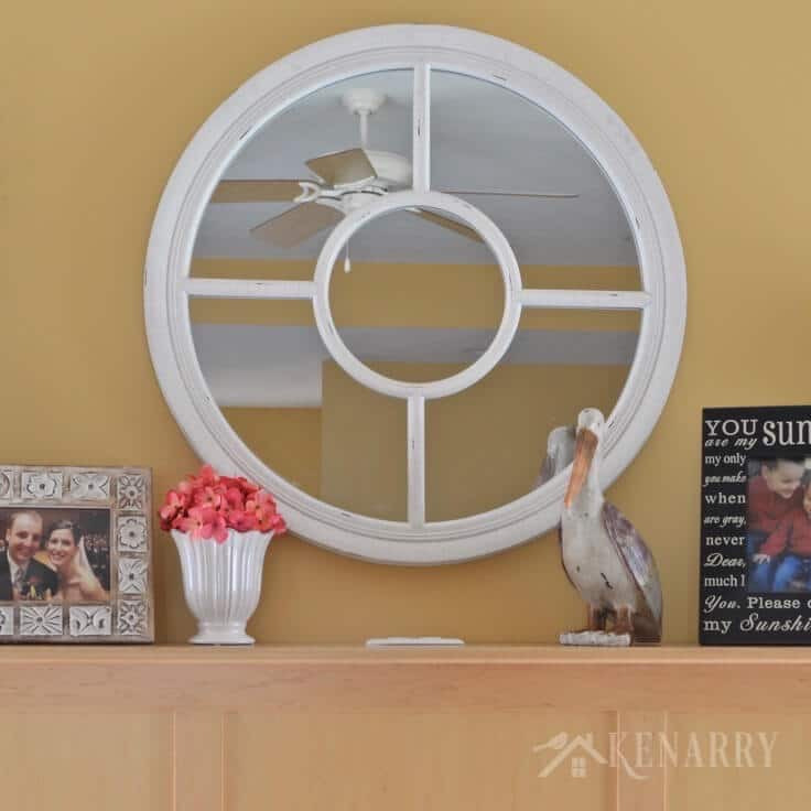 Love these summer mantel decor ideas to update a fireplace for summer with hot pink and teal home accents! These ideas will add coastal style or a beach look to your living room.