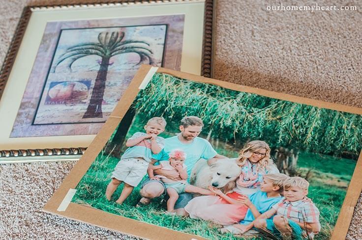 DIY Custom Photo Frame