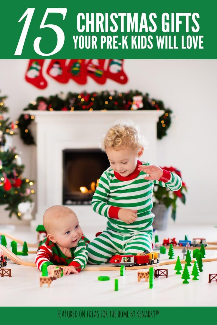 15 Christmas gifts that preschool kids will love