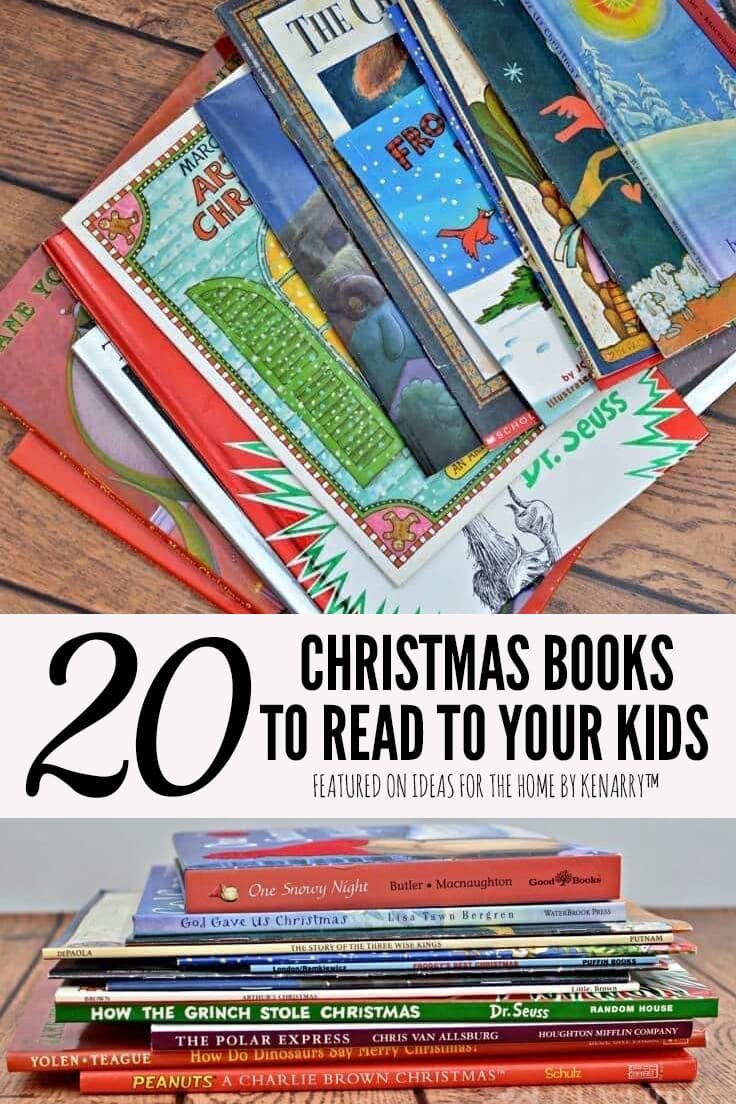 20 Chistmas books to read to your kids