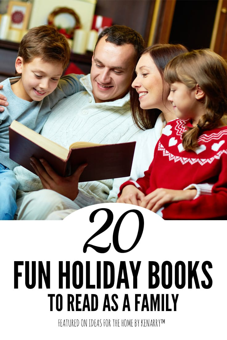 20 fun holiday books to read as a family