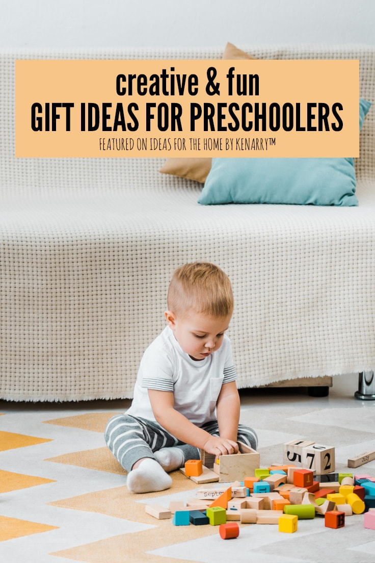 Creative and fun gift ideas for preschoolers