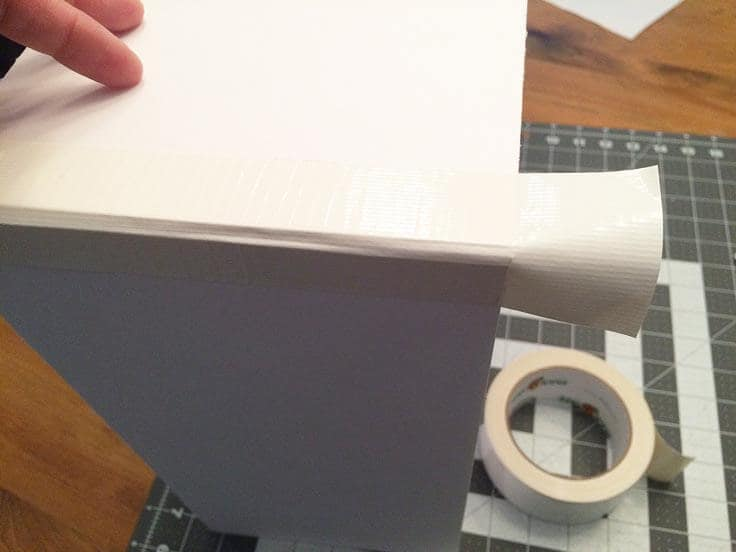 Gluing the boxes together