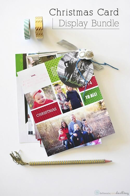 Christmas Card Display Bundle – Delineate Your Dwelling featured on Kenarry.com