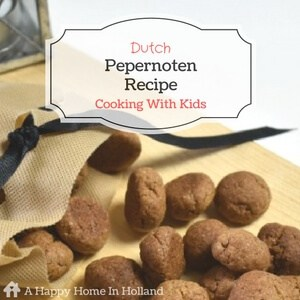 Cooking With Kids - Learn How To Make Cute Little Dutch Cookies
