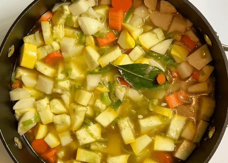 Potato and Swiss Soup