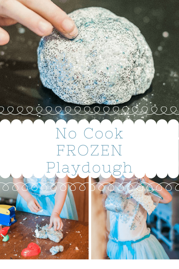 No Cook Frozen Playdough