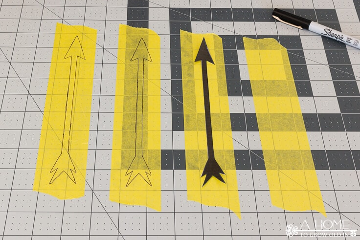 How to create your own arrow stencils