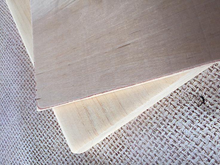 DIY wood clip frames