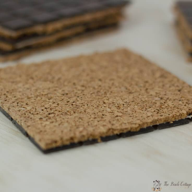 These DIY Tile Coasters are easy to make and make a great handmade gift! Get the full tutorial from The Birch Cottage!