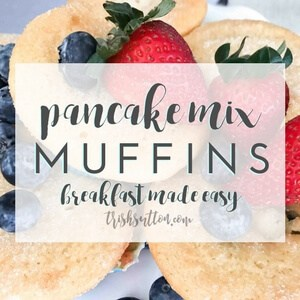 Simple Pancake Mix Muffins Recipe by Trish Sutton