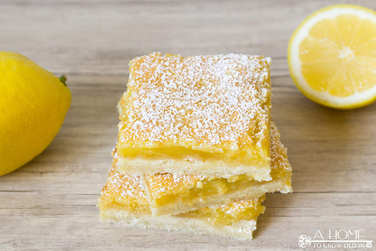 This irresistible lemon bars recipe balances sweet with tartness by combining the perfect shortbread crust with a delicious lemon custard. It's a must have at your next summer BBQ or get-together!
