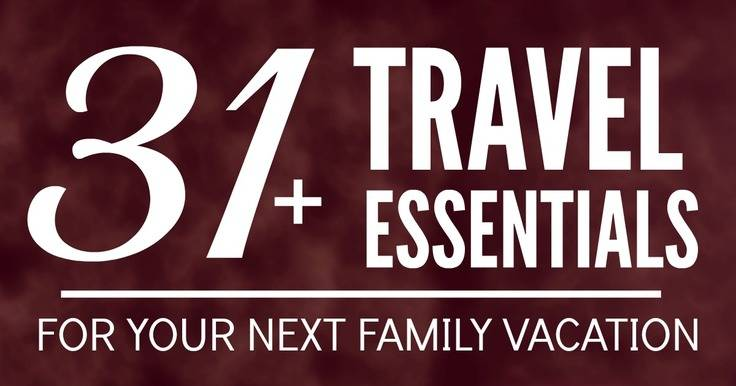 Whether your flying or driving on a road trip for your next family vacation, this list of favorite travel essentials and trip tips is a must read! It's chock full of great ideas and things you need to know as you plan your dream vacation with the kids.