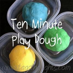Ten Minute Play Dough, TrishSutton.com