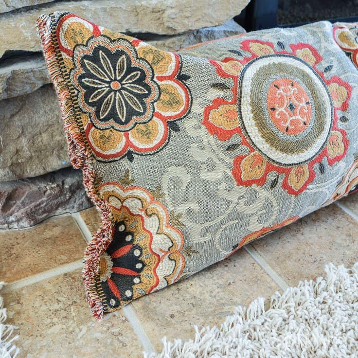 A fireplace draft stopper helps save heating costs and blocks cold air in the winter. You can easily learn how to make a draft blocker with this simple sewing tutorial.