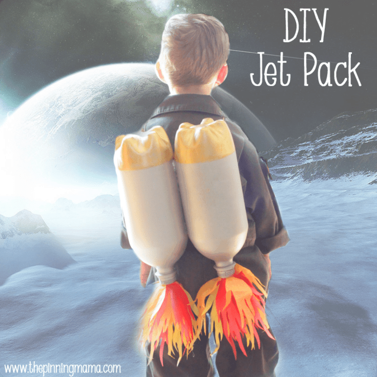 DIY Jet Pack for an Astronaut Costume – The Pinning Mama - Halloween Costumes: The 15 Cutest Ideas for Kids featured on Kenarry.com