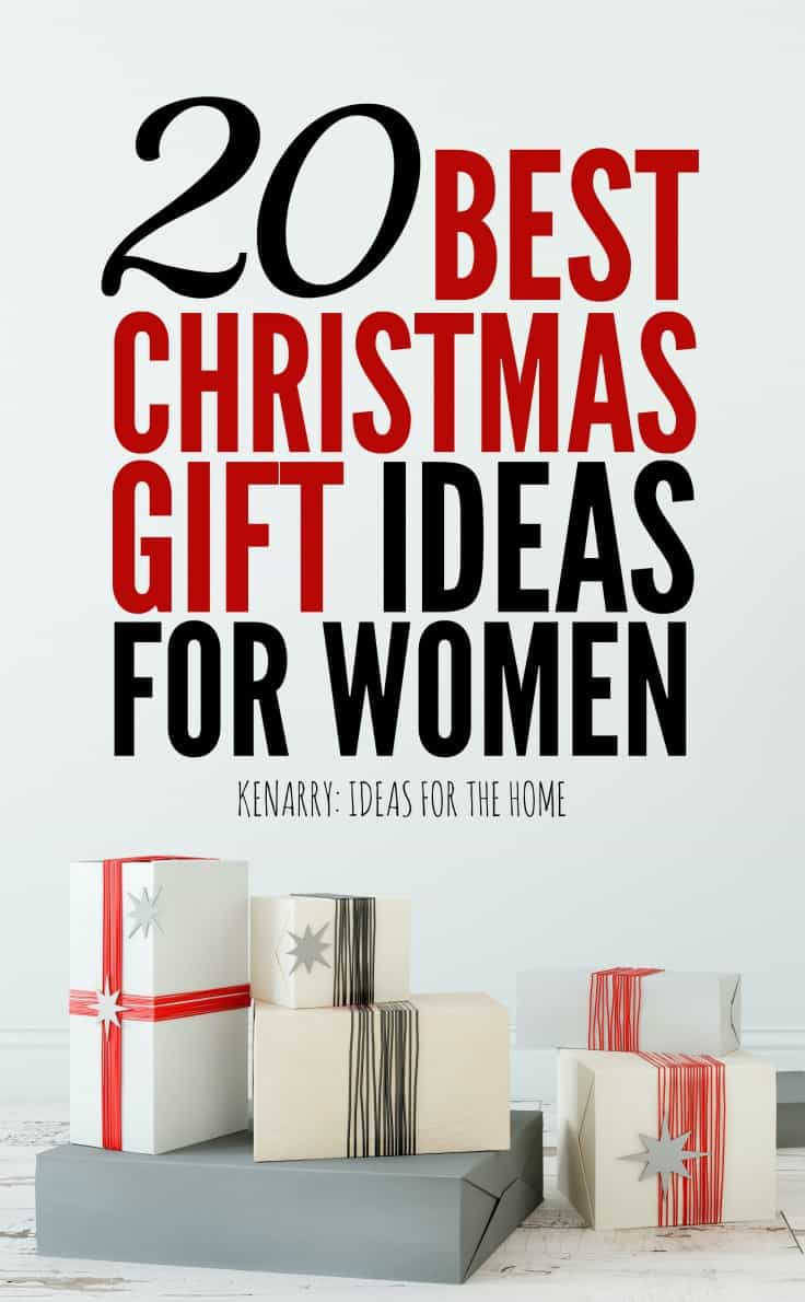 This holiday gift guide for women features 20 of the best Christmas present ideas for under $50 each.