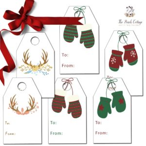 Christmas Gift Tags from The Birch Cottage