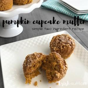 Pumpkin Cupcake Muffins