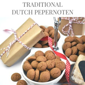 Dutch pepernoten recipe - learn how to make traditional little dutch spiced biscuits.