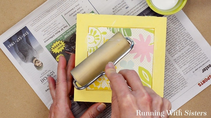 """Make an Easy Jewelry Box with a cute label. We'll show you how to decoupage the box with scrapbook paper and a cute downloadable """"Blingy Things"""" label."""