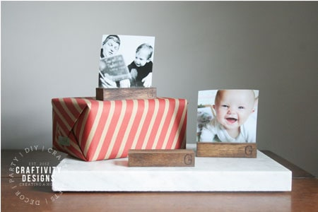 personalized diy photo holders