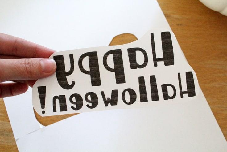 vinyl lettering template