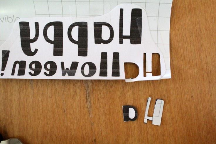vinyl letters