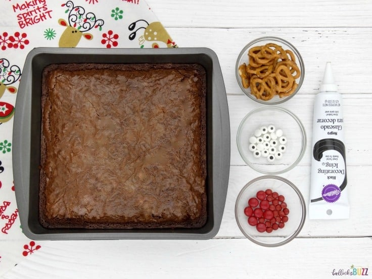 reindeer brownies ingredients