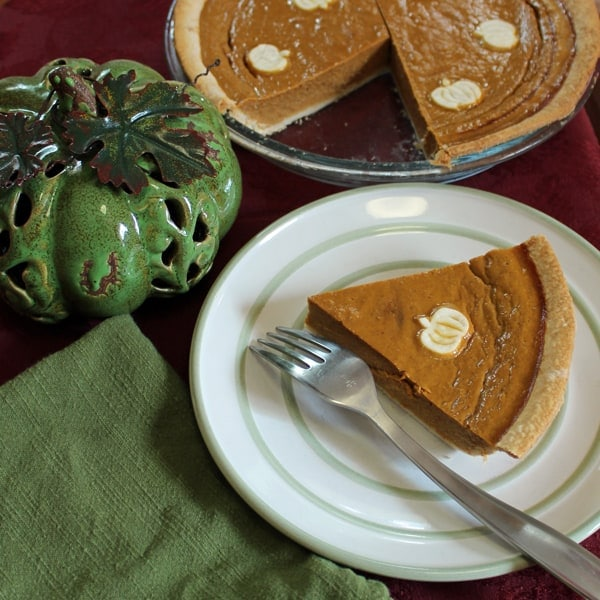 The Best Pumpkin Pie Without Canned Milk