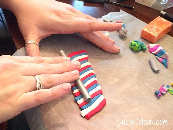 How to make polymer clay covered pens!