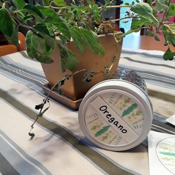 Printable Jar Labels for Dried Herbs / OneMamasDailyDrama.com
