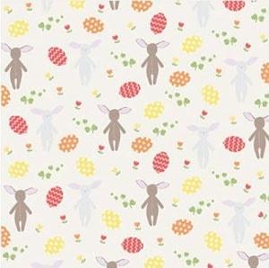 Easter bunny and egg print