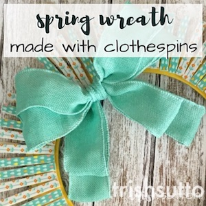Spring Clothespins; TrishSutton.com