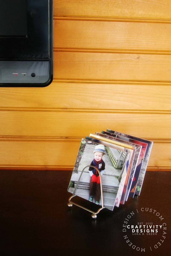 Display Photos with a Letter Holder, by Craftivity Designs