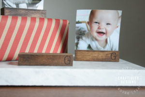 How to Make DIY Wood Photo Stands by Craftivity Designs