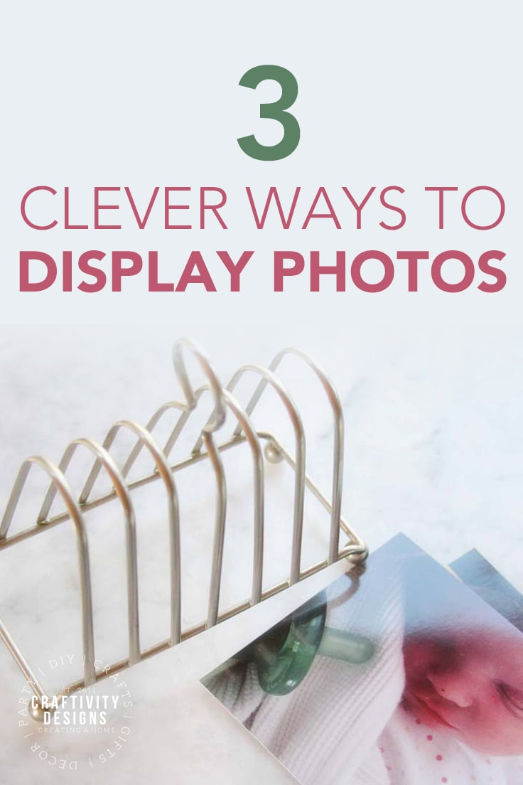 3 Clever Ways to Display Photos by Craftivity Designs