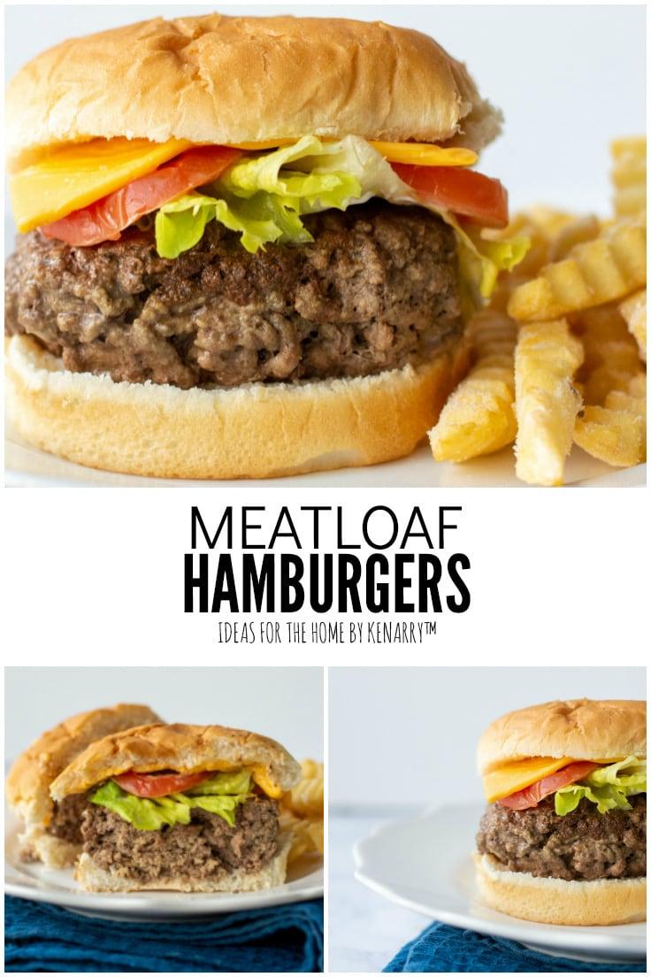 Meatloaf Hamburgers
