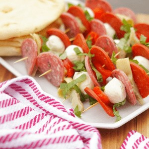 Antipasto skewers from Old House to New Home.